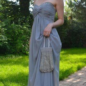 Sheer  Dress Sweetheart Neckline David's Bridal